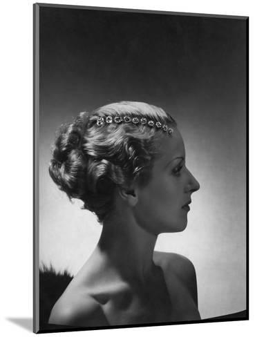 Vogue - September 1934-Horst P. Horst-Mounted Premium Photographic Print