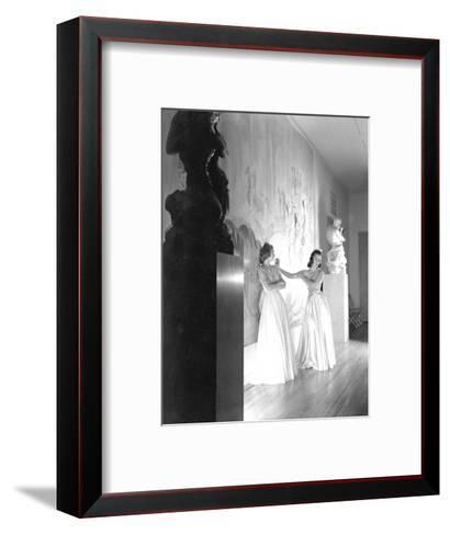 Vogue - November 1938-Horst P. Horst-Framed Art Print