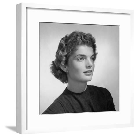 Vogue - February 1961-Horst P. Horst-Framed Art Print