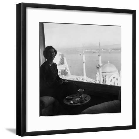 Vogue - November 1954-Horst P. Horst-Framed Art Print