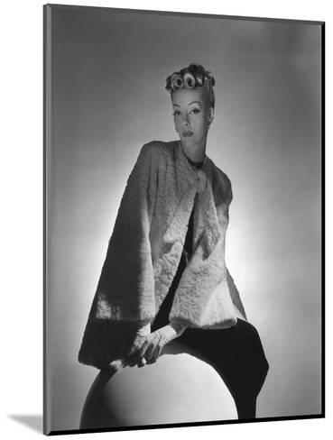 Vogue - November 1938-Horst P. Horst-Mounted Premium Photographic Print