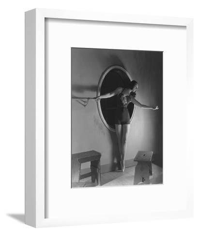 Vogue - December 1938-Horst P. Horst-Framed Art Print