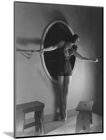 Vogue - December 1938-Horst P. Horst-Mounted Premium Photographic Print