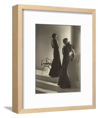 Vogue - November 1934-Horst P. Horst-Framed Art Print