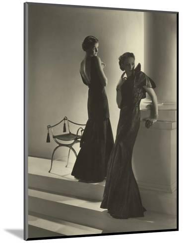 Vogue - November 1934-Horst P. Horst-Mounted Premium Photographic Print