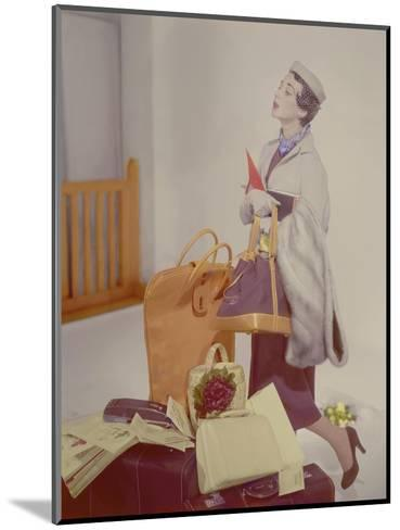 Vogue - May 1950-Horst P. Horst-Mounted Premium Photographic Print
