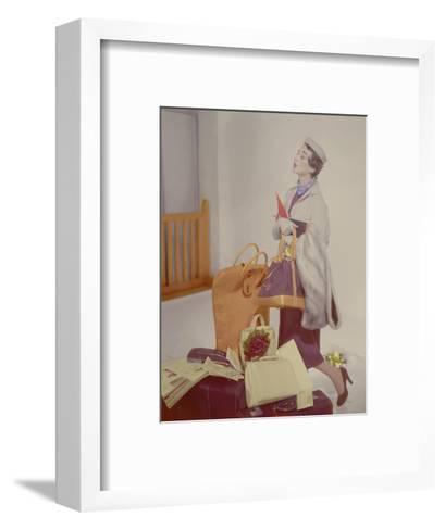 Vogue - May 1950-Horst P. Horst-Framed Art Print