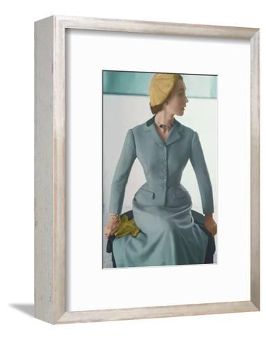 Vogue - February 1952-Horst P. Horst-Framed Art Print