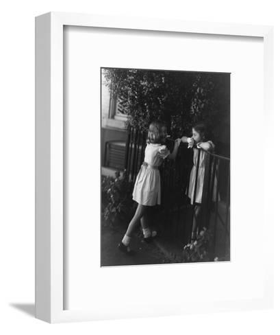 Vogue - October 1950-Horst P. Horst-Framed Art Print