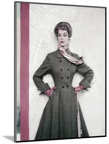 Vogue - September 1951-Horst P. Horst-Mounted Premium Photographic Print
