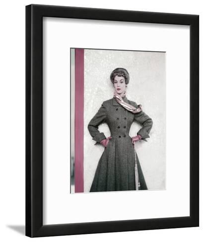 Vogue - September 1951-Horst P. Horst-Framed Art Print