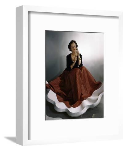 Vogue - August 1941-Horst P. Horst-Framed Art Print