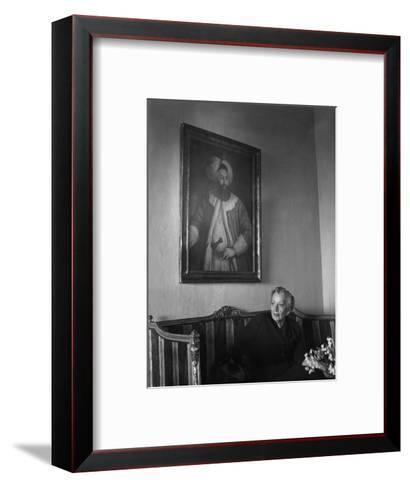 Naciye Killigil--Framed Art Print
