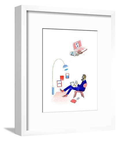 Wired--Framed Art Print