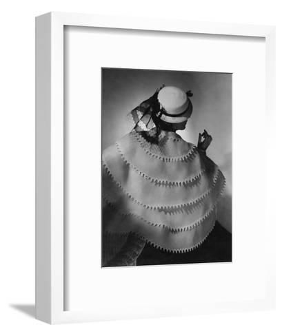 Vogue - April 1935-Horst P. Horst-Framed Art Print