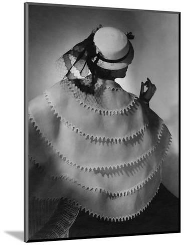Vogue - April 1935-Horst P. Horst-Mounted Premium Photographic Print