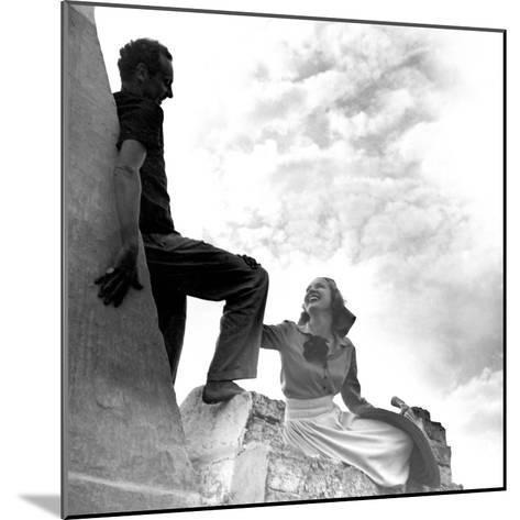 Vogue - July 1938-Horst P. Horst-Mounted Premium Photographic Print