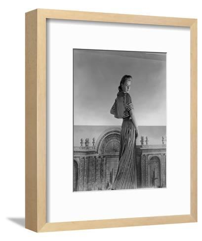 Vogue - July 1940-Horst P. Horst-Framed Art Print