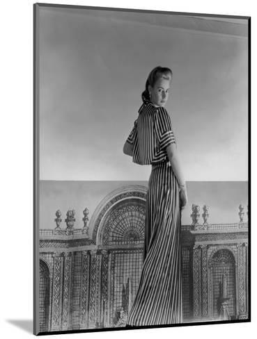 Vogue - July 1940-Horst P. Horst-Mounted Premium Photographic Print