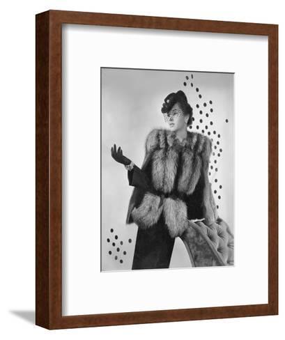 Vogue - August 1942-Horst P. Horst-Framed Art Print