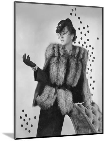 Vogue - August 1942-Horst P. Horst-Mounted Premium Photographic Print