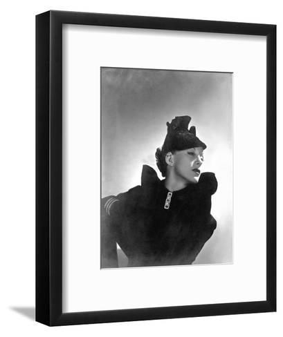 Vogue - October 1935-Horst P. Horst-Framed Art Print