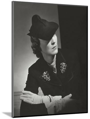Vogue - October 1935-Horst P. Horst-Mounted Premium Photographic Print