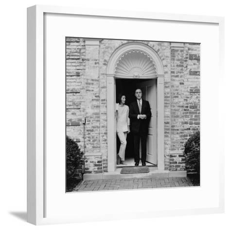 The Honorable William Mccormick Blair Jr.--Framed Art Print