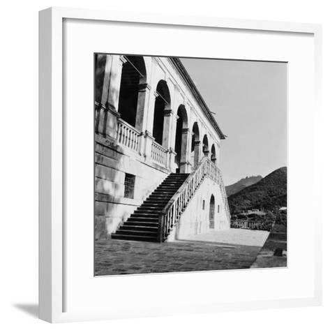 The Villla Dei Vescovi--Framed Art Print