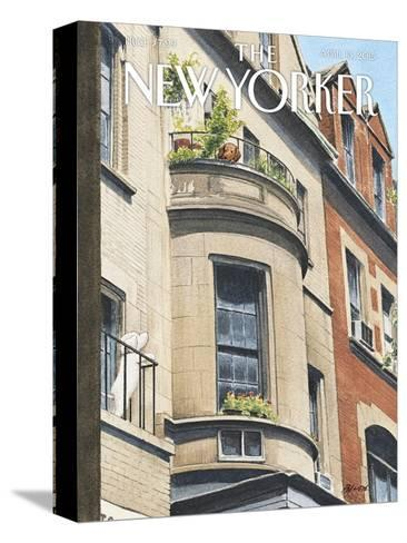 The New Yorker Cover - April 13, 2015--Stretched Canvas Print