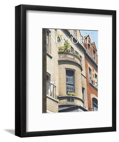 The New Yorker Cover - April 13, 2015--Framed Art Print
