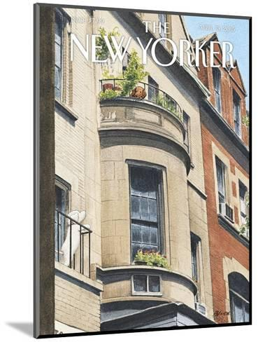 The New Yorker Cover - April 13, 2015--Mounted Premium Giclee Print