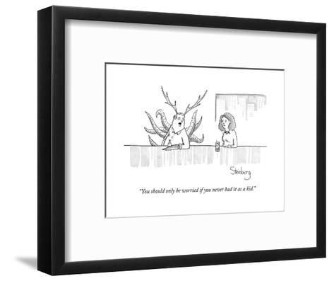 """""""You should only be worried if you never had it as a kid."""" - New Yorker Cartoon--Framed Art Print"""