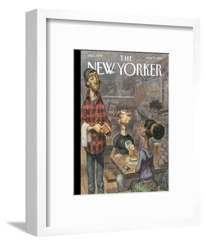 The New Yorker Cover - November 3, 2014--Framed Art Print