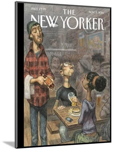 The New Yorker Cover - November 3, 2014--Mounted Premium Giclee Print
