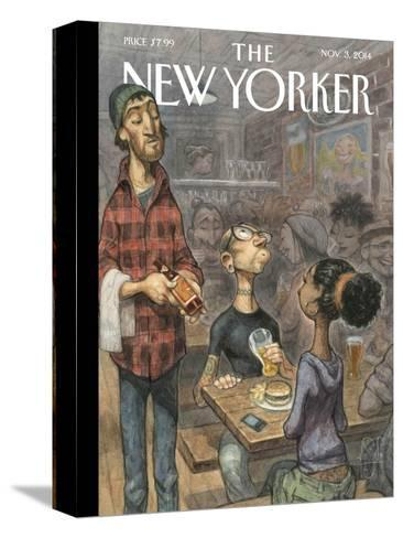 The New Yorker Cover - November 3, 2014--Stretched Canvas Print