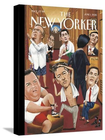 The New Yorker Cover - June 1, 2015--Stretched Canvas Print