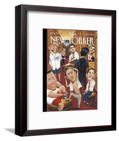The New Yorker Cover - June 1, 2015--Framed Art Print