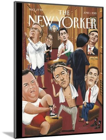 The New Yorker Cover - June 1, 2015--Mounted Premium Giclee Print