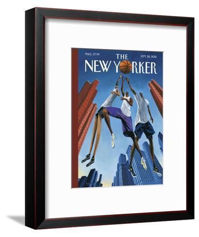 The New Yorker Cover - September 28, 2015--Framed Art Print