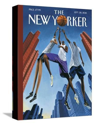 The New Yorker Cover - September 28, 2015--Stretched Canvas Print