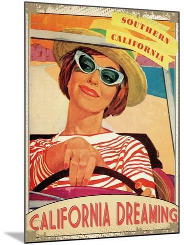 California Dreaming--Mounted Giclee Print
