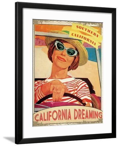 California Dreaming--Framed Art Print