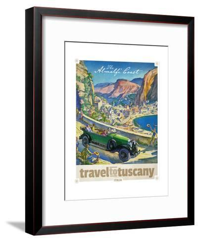 Travel to Tuscany--Framed Art Print