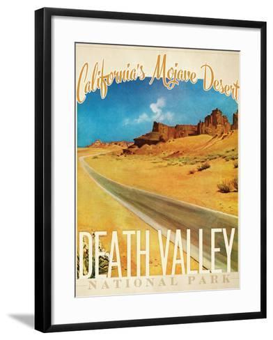 Death Valley--Framed Art Print