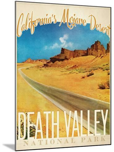 Death Valley--Mounted Giclee Print