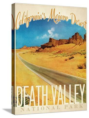 Death Valley--Stretched Canvas Print