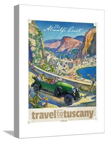 Travel to Tuscany--Stretched Canvas Print