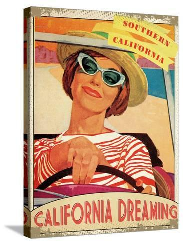 California Dreaming--Stretched Canvas Print