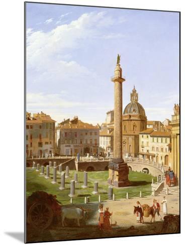 A View of Trajan's Forum, Rome, 1821-Sir Charles Lock Eastlake-Mounted Giclee Print